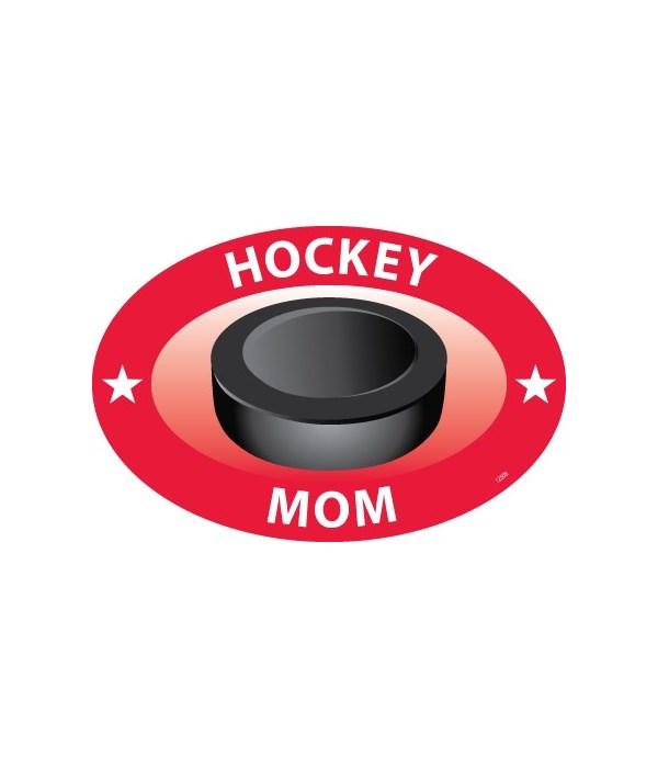 Hockey Mom Oval magnet