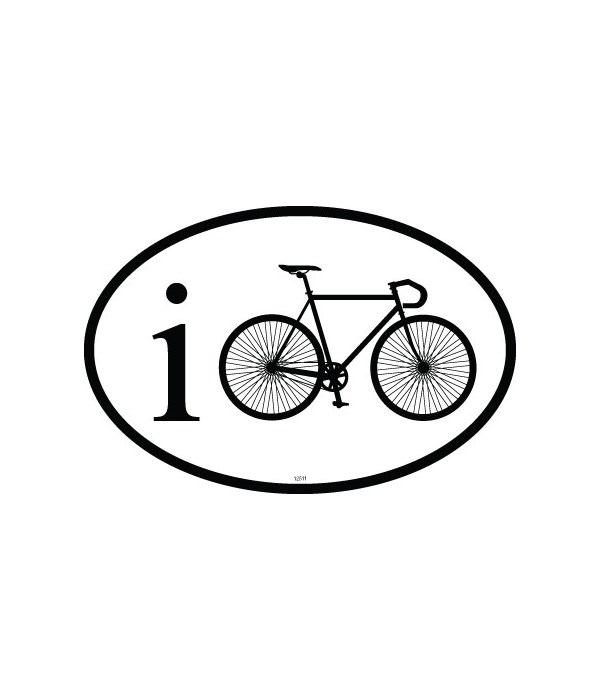 iCycle Oval magnet