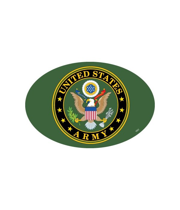 Army Logo Oval magnet