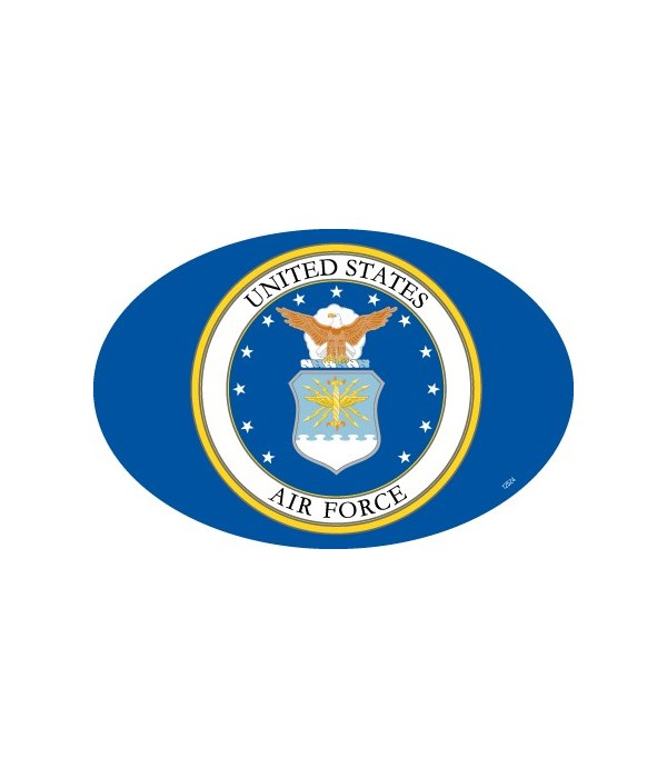 Air Force Logo Oval magnet