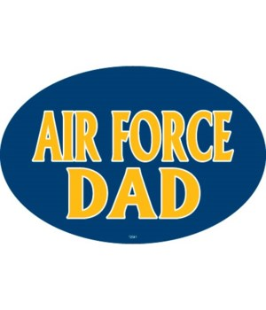 Air Force Dad Oval magnet