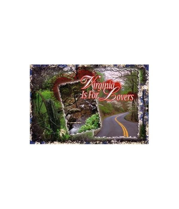 VA Postcard Scenic Multiview