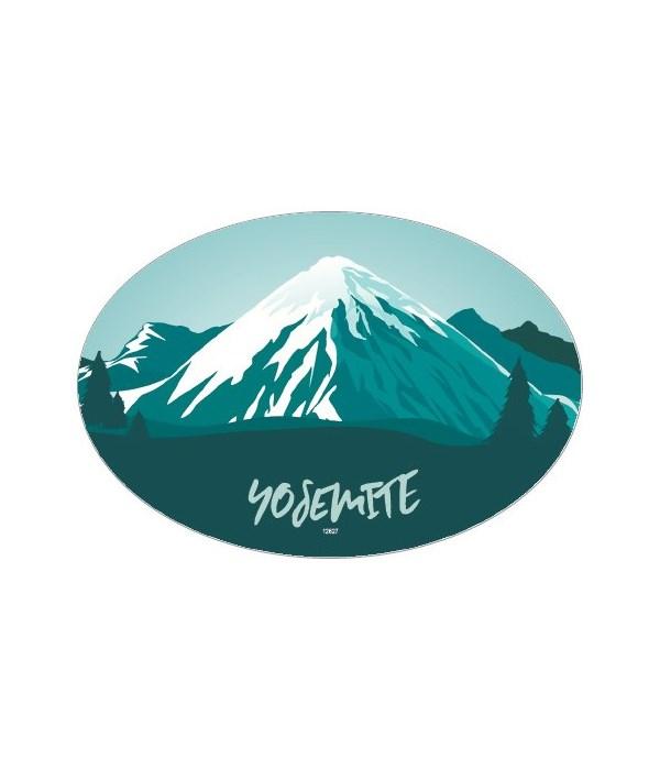 Mountain Design - blue snowcapped mounta