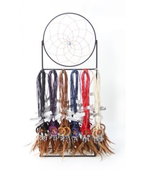 Dreamcatcher Necklaces 72 pc dsp