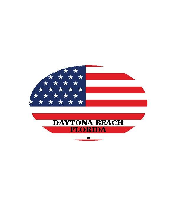Daytona Beach, Fl USA Flag