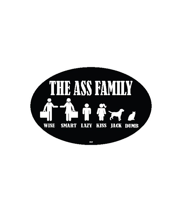 The Ass Family - Wise, Smart, Lazy, Kiss