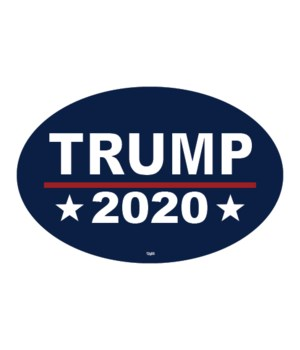 Trump 2020 (navy blue background)