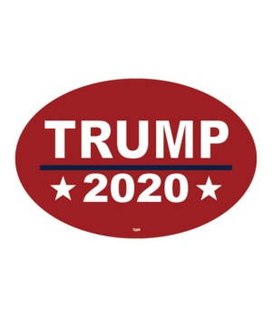 Trump 2020 (red background)