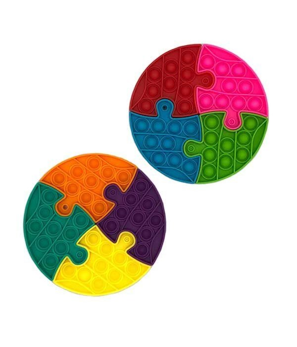 Round 4 pc puzzle Bubble Fidget