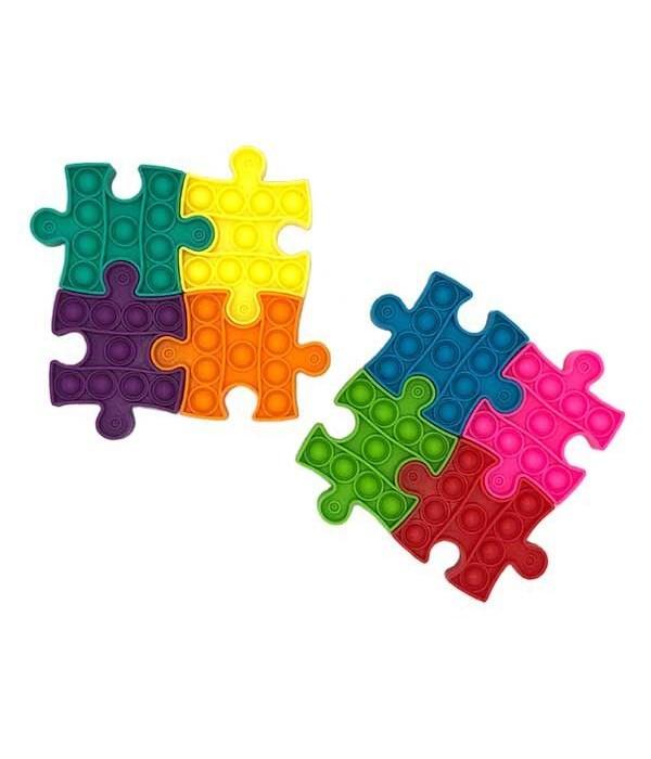 Jigsaw 4 piece puzzle Bubble Fidget