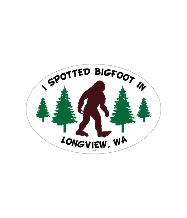 I spotted bigfoot in…