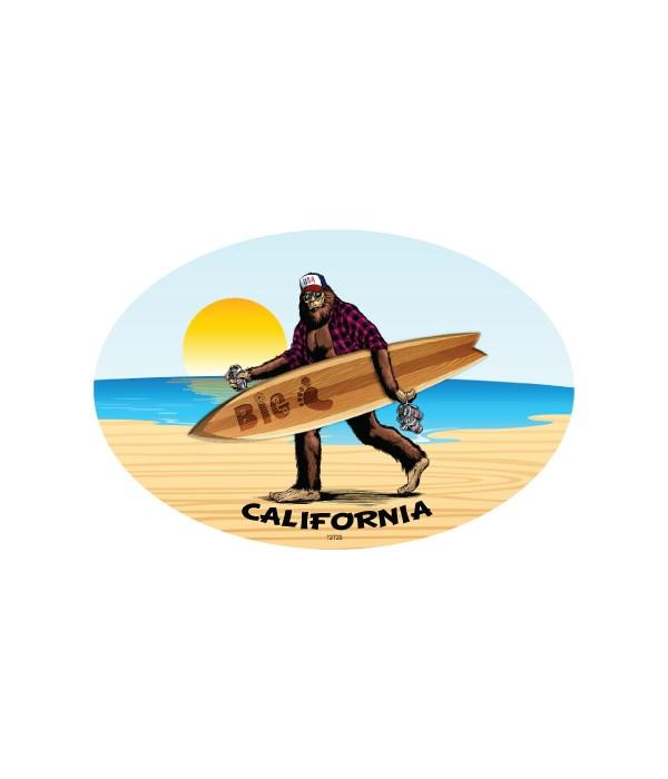 Bigfoot w/Surfboard