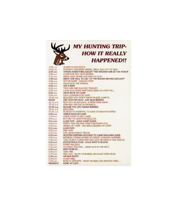 Hillbilly Hunting Trip Postcard