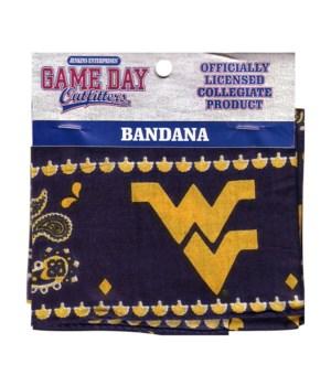 WV-U Bandana Traditional