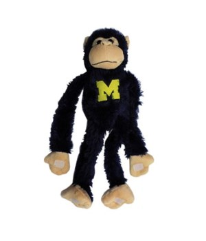U of M Plush Monkey Moveable Legs