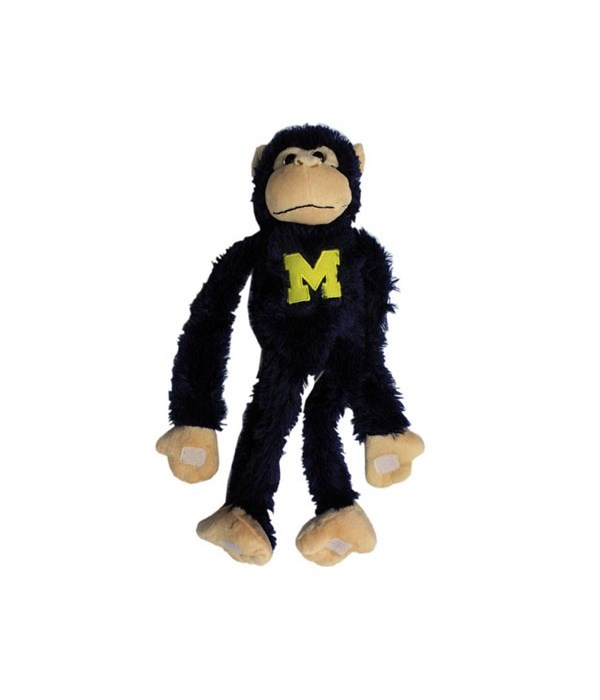 U of M Plush Monkey Moveable Legs