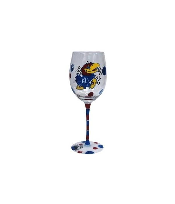 U-KS Drinkware Wine Glass 12oz
