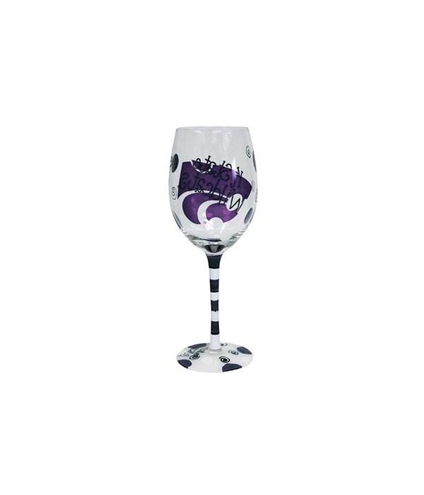 KS-S Drinkware Wine Glass 12oz