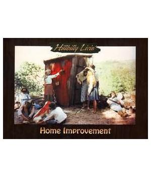 Hillbilly Home Improvement Postcard