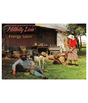 Hillbilly Energy Saver Postcard