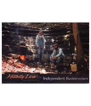 Hillbilly Businessman Postcard