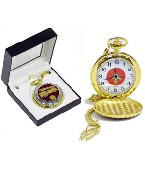 Fire Dept pocket watch