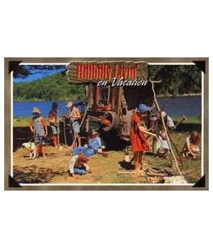 Hillbilly Vacation Postcard