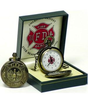 Fire fighter pocket watch
