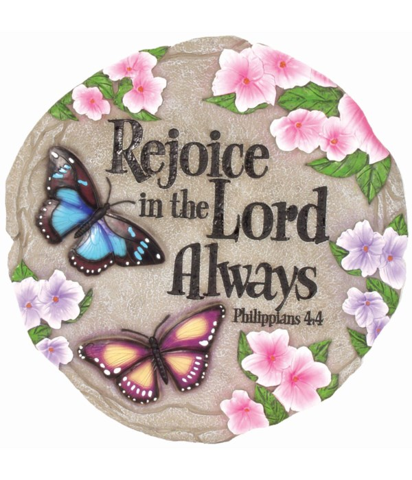 REJOICE IN THE LORD STEP.STONE