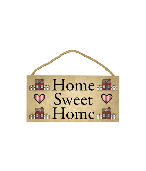 Home Sweet Home (with houses) 5x10
