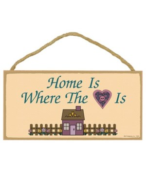 Home is where the heart is 5x10