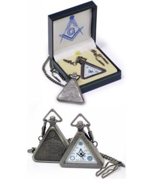 *Mason pocket watch/triangular