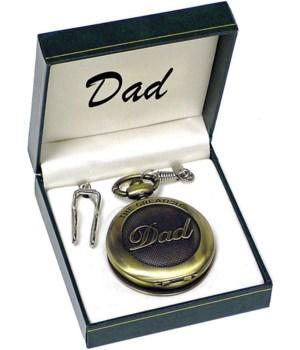 "*Dad ""The Greatest"" pocket watch"