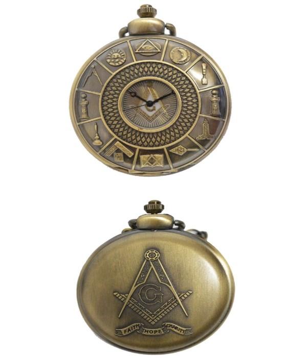 *Masonic pocket watch