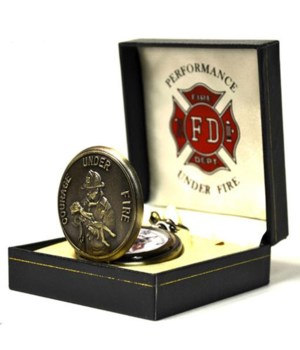 *Firefighter Rescues Child pocket watch