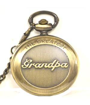 Greatest Grandpa pocket watch