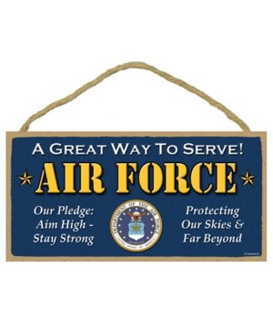 U.S. Air Force - A great way to serve -