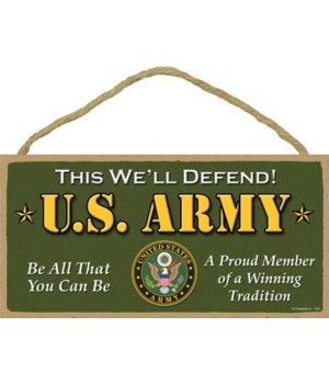U.S. Army - This we'll defend! - Be all