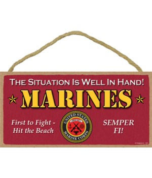 U.S. Marines - The situation is well in