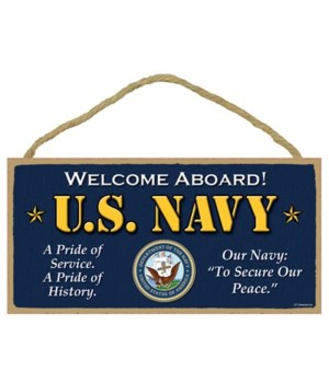U.S. Navy - Welcome aboard! - A pride of