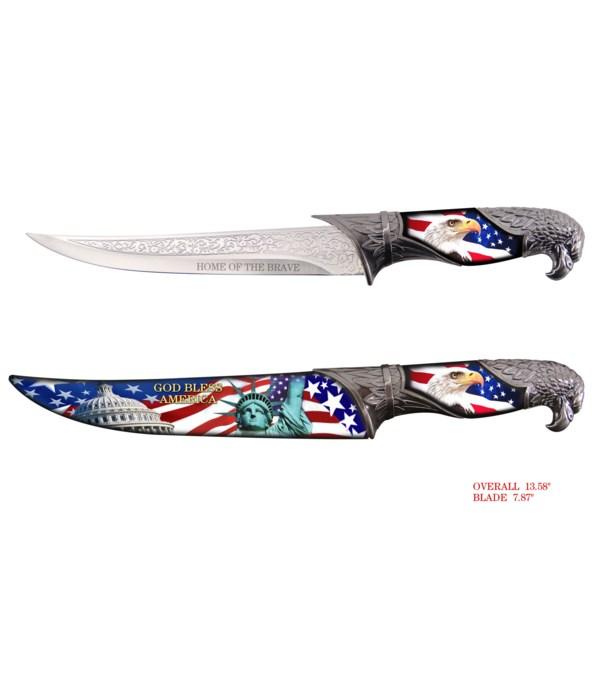 "Eagle & liberty 13"" Dagger"