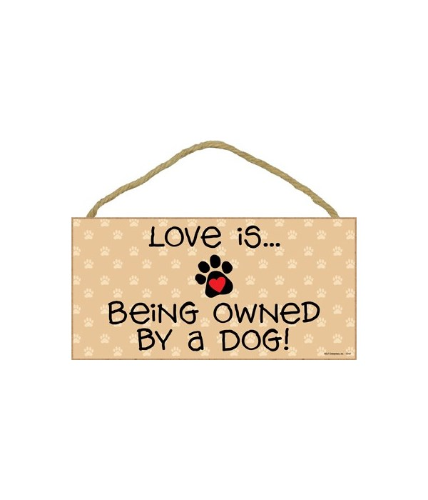Love is… being owned by a Dog! 5x10