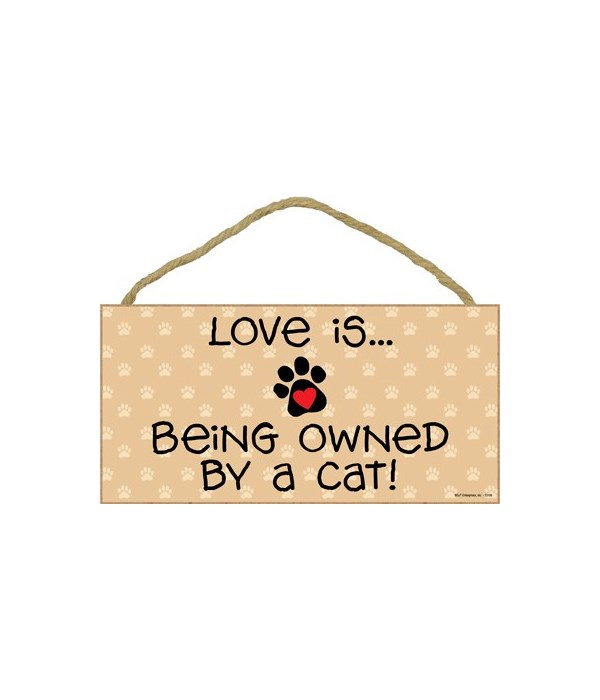 Love is… being owned by a Cat! 5x10