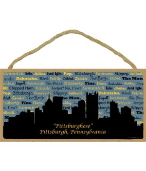 """Pittsburghese"" - Pittsburgh, Pennsylvan"