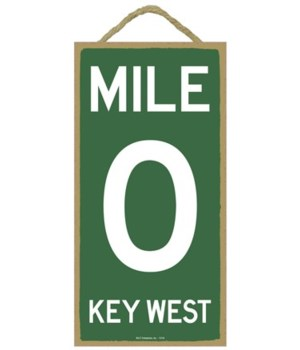 Mile 0 Key West 5x10