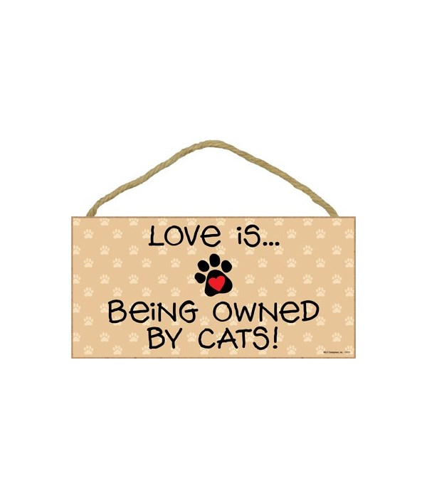Love is… being owned by Cats! 5x10