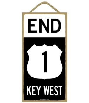 End (Route) 1 Key West 5x10