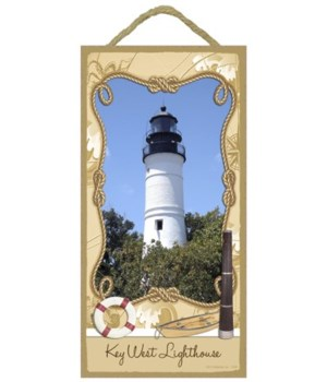Key West Lighthouse - Florida 5x10