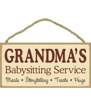 Grandma's Babysitting Service Meals - St