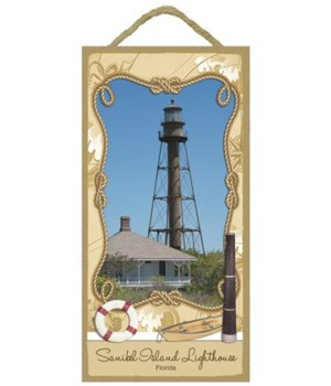 Sanibel Island Lighthouse - Florida 5x10